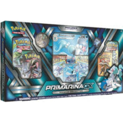 Buy Pokemon - Primarina-GX Premium Collection Box and more Great Pokemon Products at 401 Games
