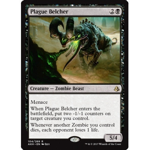 Plague Belcher (AKH) available at 401 Games Canada