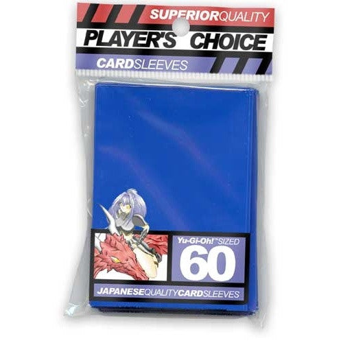 Buy Players Choice - Small / Yu Gi Oh - Blue and more Great Sleeves & Supplies Products at 401 Games