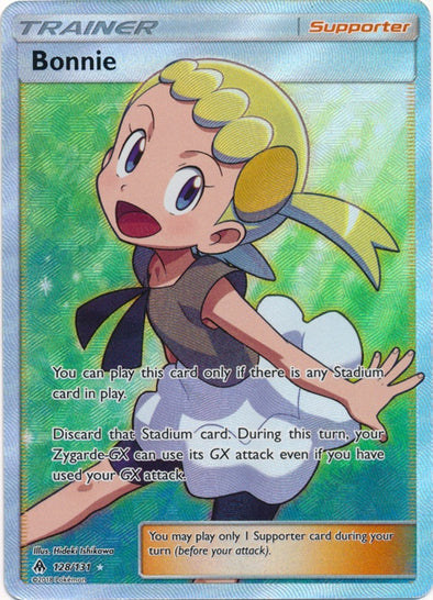 Buy Bonnie - 128/131 - Full Art and more Great Pokemon Products at 401 Games