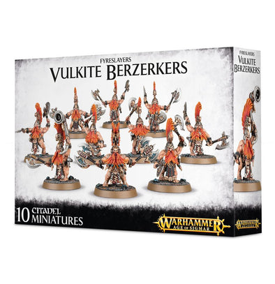 Warhammer - Age of Sigmar - Fyreslayers - Vulkite Berzerkers available at 401 Games Canada
