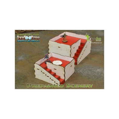 Bandua - Q-Building - White & Red - 401 Games