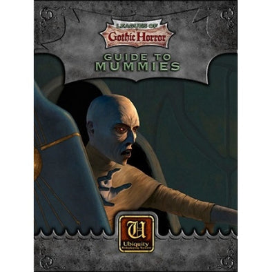 Ubiquity - Leagues of Gothic Horror - Guide to Mummies - 401 Games