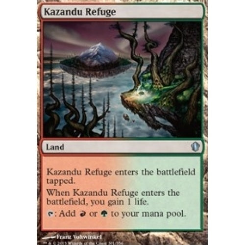 Kazandu Refuge (C13) available at 401 Games Canada