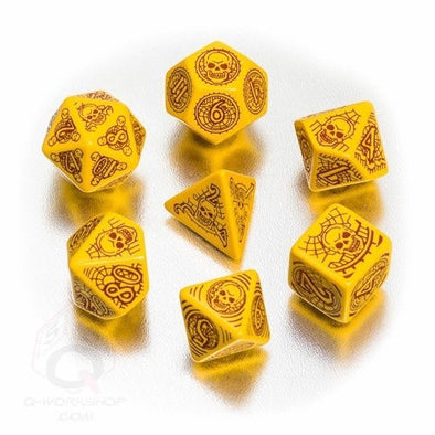 Buy Dice Set - Q-Workshop - 7 Piece Set - Pathfinder - Skull and Shackles and more Great Dice Products at 401 Games