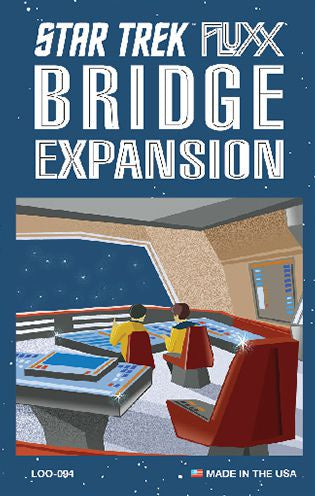Fluxx - Star Trek Fluxx - Bridge Expansion - 401 Games