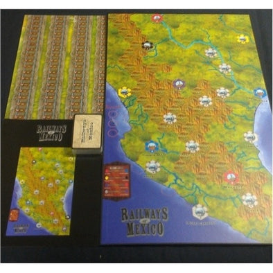 Railways of Mexico (Cards and Board) - 401 Games