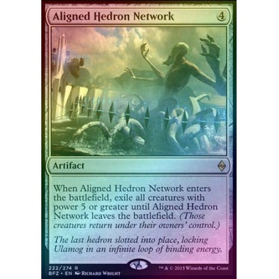 Aligned Hedron Network (Foil) (BFZ) available at 401 Games Canada