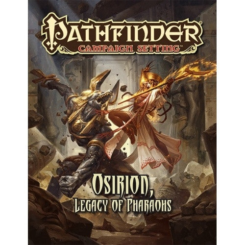 Buy Pathfinder - Campaign Setting - Osirion, Legacy of Pharaohs and more Great RPG Products at 401 Games