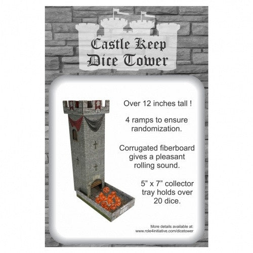 Castle Keep Dice Tower - 401 Games