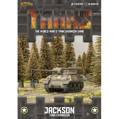 Buy Tanks - American - Jackson and more Great Tabletop Wargames Products at 401 Games