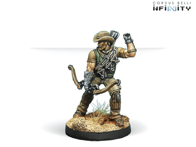 Infinity - Ariadna - Hardcases, 2nd Irregular Frontiersmen Battalion (Tactical Bow) - 401 Games