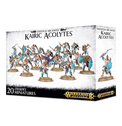 Buy Warhammer - Age of Sigmar - Disciples of Tzeentch - Kairic Acolytes and more Great Games Workshop Products at 401 Games