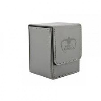 Buy Ultimate Guard - Flip Deck Case Leatherette 100+ - Grey and more Great Sleeves & Supplies Products at 401 Games