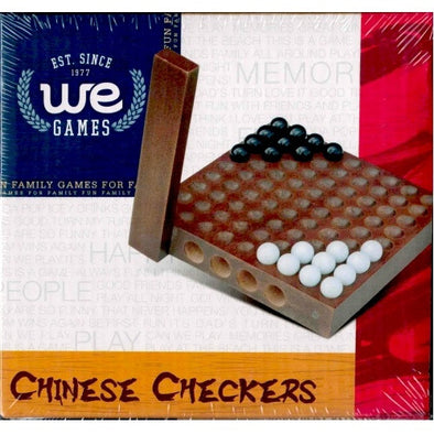 "Chinese Checkers - 5"" Wood - Wood Expressions - 401 Games"