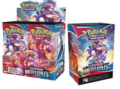 Pokemon - Battle Styles - Booster Box + Build & Battle Kit Bundle (Pre-Order April 2nd, 2021) available at 401 Games Canada