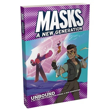 Buy Apocalypse - Masks: A New Generation - Unbound (Softcover) and more Great RPG Products at 401 Games