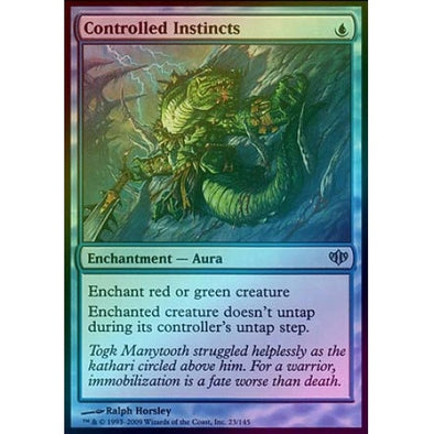 Controlled Instincts (Foil) (CON) - 401 Games