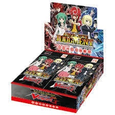 Buy Cardfight!! Vanguard - VGE-G-BT08 - Absolute Judgment Booster Box and more Great Cardfight!! Vanguard Products at 401 Games
