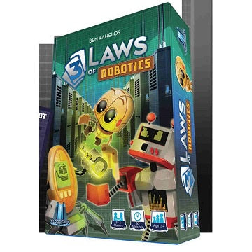 Buy 3 Laws of Robotics (Pre-Order) and more Great Board Games Products at 401 Games
