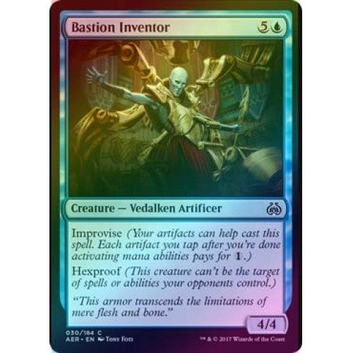 Bastion Inventor (Foil) (AER) available at 401 Games Canada