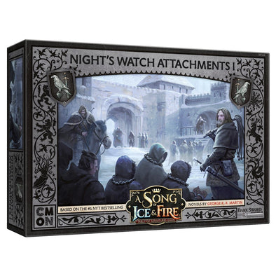 A Song of Ice and Fire - Tabletop Miniatures Game - Night's Watch - Attachments 1 (Pre-Order) - 401 Games