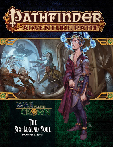 Pathfinder - Adventure Path - #132: The Six-Legend Soul (War for the Crown 6 of 6) available at 401 Games Canada