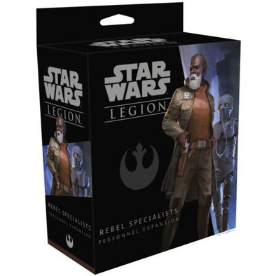 Buy Star Wars - Legion - Rebel - Rebel Specialists Personnel and more Great Tabletop Wargames Products at 401 Games