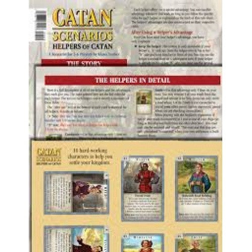Settlers of Catan - Helpers Of Catan Scenario
