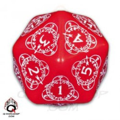Buy Dice Set - Q-Workshop - 30mm D20 Level Counter - Red and more Great Dice Products at 401 Games
