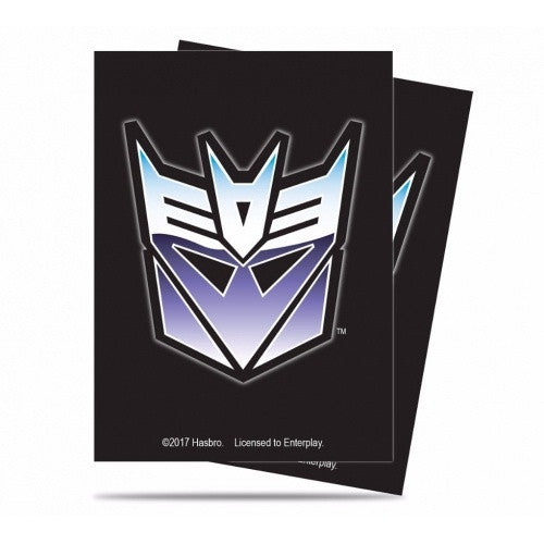 Ultra Pro - Standard Card Sleeves 65ct - Transformers - Decepticon - 401 Games