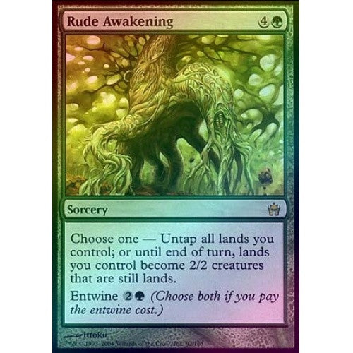 Rude Awakening (Foil) (5DN) available at 401 Games Canada