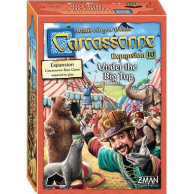 Carcassonne - Under the Big Top available at 401 Games Canada