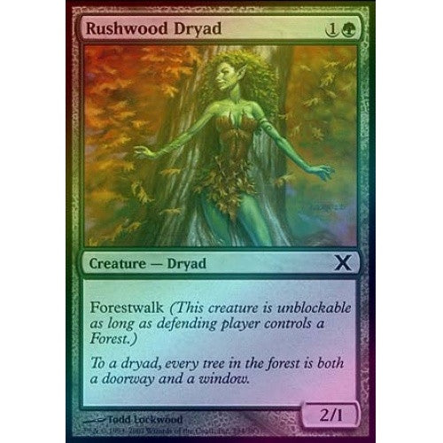 Rushwood Dryad (Foil) available at 401 Games Canada