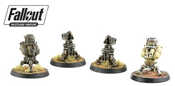 Fallout - Wasteland Warfare - Terrain Expansion - Turrets (Pre-Order) - 401 Games