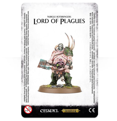 Warhammer - Age of Sigmar - Maggotkin of Nurgle - Lord of Plagues - 401 Games