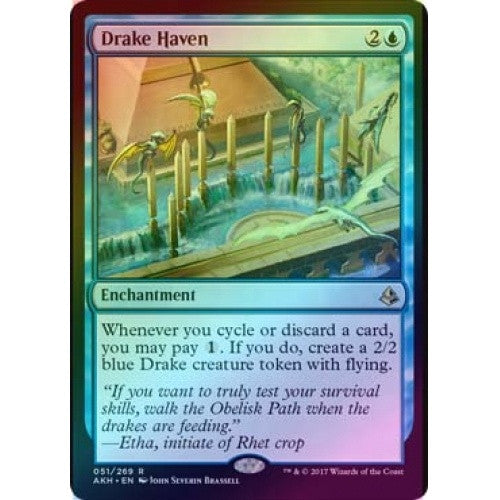 Drake Haven (Foil) (AKH) available at 401 Games Canada