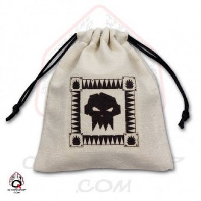 Q-Workshop - Dice Bag - Orc Symbol - 401 Games