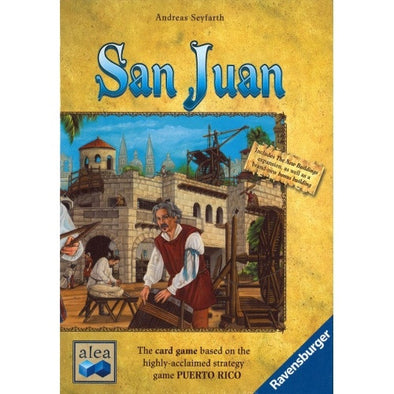 Buy San Juan and more Great Board Games Products at 401 Games