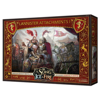 A Song of Ice and Fire - Tabletop Miniatures Game - House Lannister - Attachments 1 (Pre-Order) - 401 Games