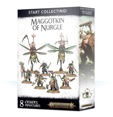 Warhammer - Age of Sigmar - Start Collecting! Maggotkin of Nurgle - 401 Games
