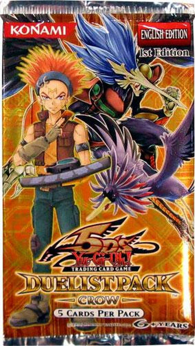 Yugioh - Duelist Pack: Crow (1st Edition) available at 401 Games Canada