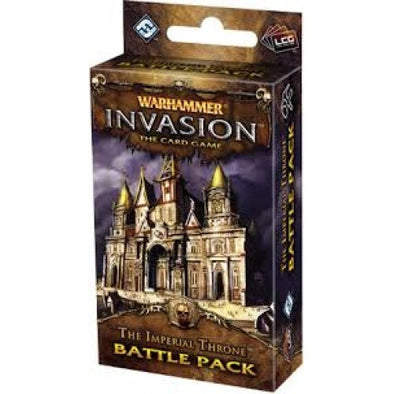Warhammer Invasion - The Imperial Throne (No Restock) - 401 Games