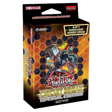 Yugioh - Circuit Break Special Edition (Display of 10) (Pre-Order Dec 8, 2017) - 401 Games