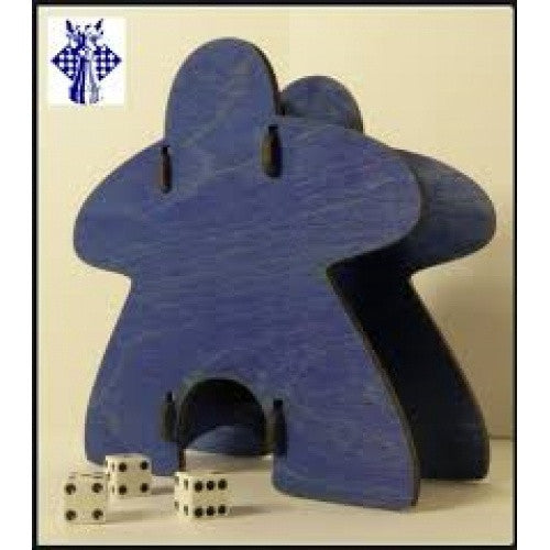 Dice Tower - Knockdown Meeple Blue - 401 Games
