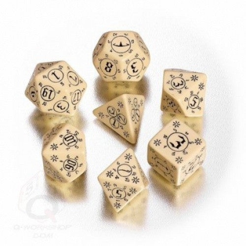 Dice Set - Q-Workshop - 7 Piece Set - Pathfinder - Rise of the Runelords available at 401 Games Canada