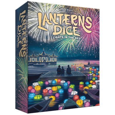 Buy Lanterns Dice - Lights in the Sky (Pre-Order) and more Great Board Games Products at 401 Games