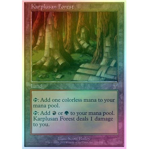 Karplusan Forest (Foil) available at 401 Games Canada