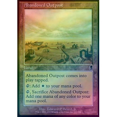 Abandoned Outpost (Foil) - 401 Games