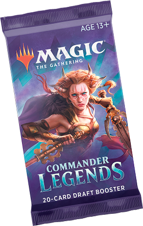 MTG - Commander Legends - Draft Booster Pack (Pre-Order Delayed Until Nov. 20) - 401 Games